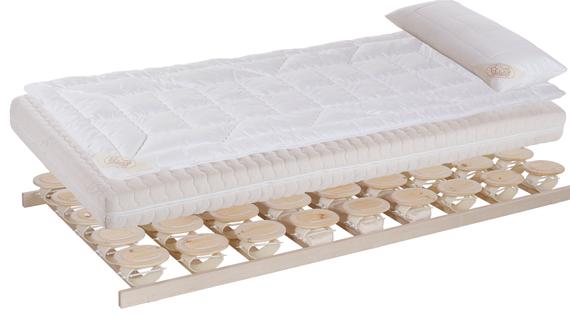 Bett Relax 2000 aus Zirbenholz von Schreinerei Sontheimer
